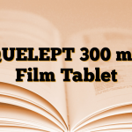 QUELEPT 300 mg Film Tablet