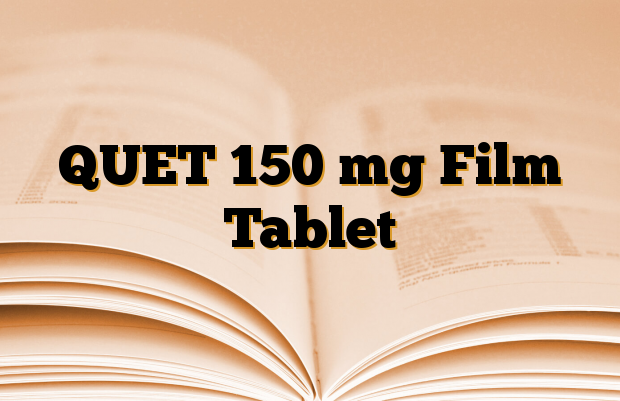 QUET 150 mg Film Tablet