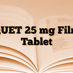 QUET 25 mg Film Tablet