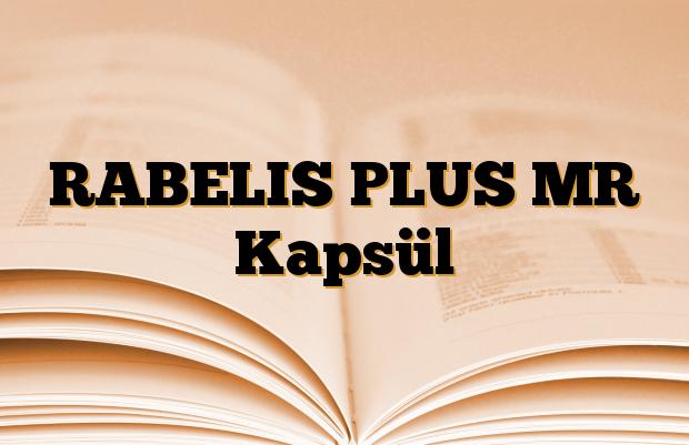 RABELIS PLUS MR Kapsül