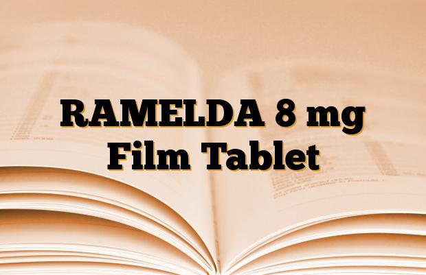 RAMELDA 8 mg Film Tablet