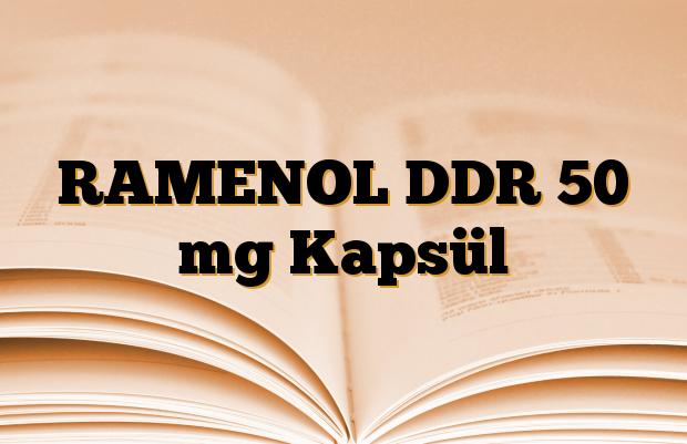 RAMENOL DDR 50 mg Kapsül
