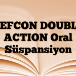 REFCON DOUBLE ACTION Oral Süspansiyon