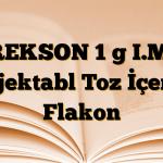 REKSON 1 g I.M. Enjektabl Toz İçeren Flakon