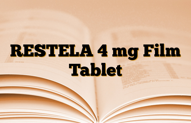 RESTELA 4 mg Film Tablet