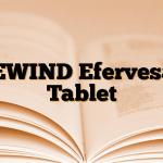 REWIND Efervesan Tablet