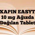 REXAPIN EASYTAB 10 mg Ağızda Dağılan Tablet