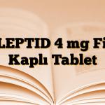 RILEPTID 4 mg Film Kaplı Tablet