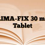 RIMA-FIX 30 mg Tablet