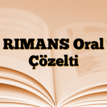 RIMANS Oral Çözelti