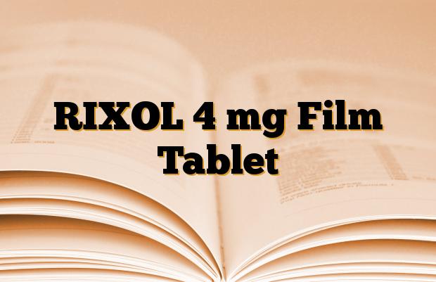 RIXOL 4 mg Film Tablet