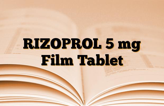 RIZOPROL 5 mg Film Tablet