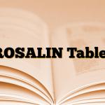 ROSALIN Tablet