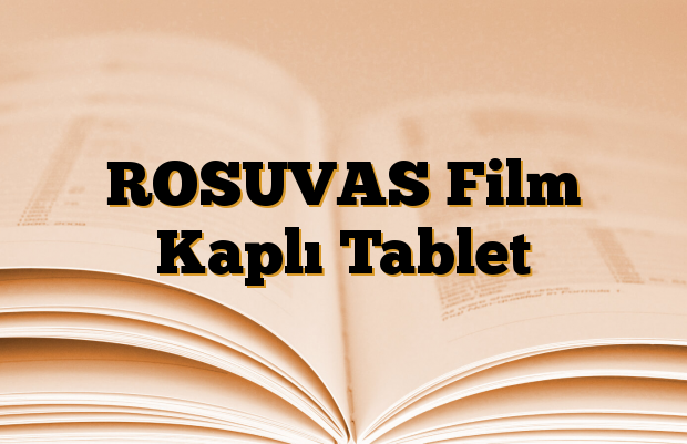 ROSUVAS Film Kaplı Tablet