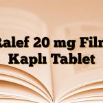 Ralef 20 mg Film Kaplı Tablet