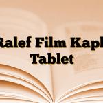 Ralef Film Kaplı Tablet