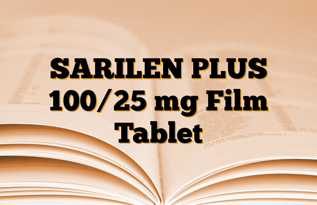 SARILEN PLUS 100/25 mg Film Tablet