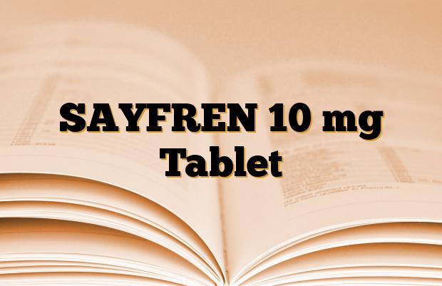 SAYFREN 10 mg Tablet