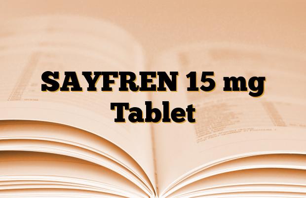 SAYFREN 15 mg Tablet