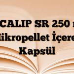 SECALIP SR 250 mg Mikropellet İçeren Kapsül