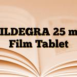 SILDEGRA 25 mg Film Tablet