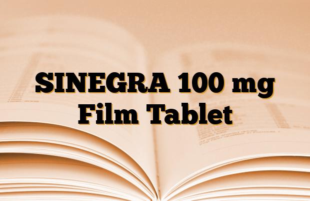 SINEGRA 100 mg Film Tablet