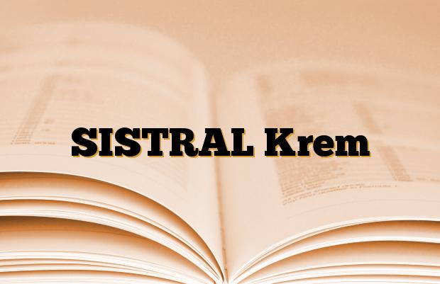 SISTRAL Krem