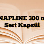 SNAPLINE 300 mg Sert Kapsül