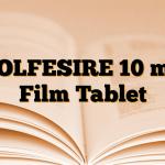 SOLFESIRE 10 mg Film Tablet