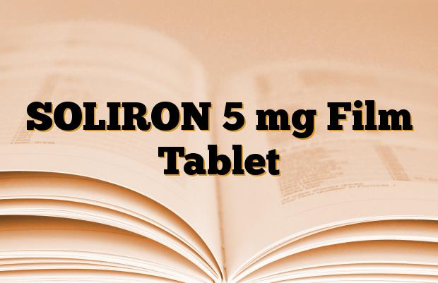 SOLIRON 5 mg Film Tablet