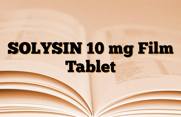SOLYSIN 10 mg Film Tablet
