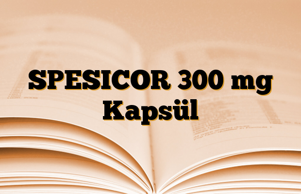 SPESICOR 300 mg Kapsül