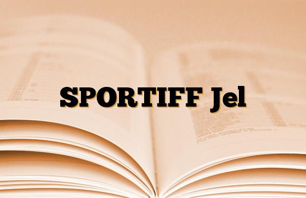 SPORTIFF Jel