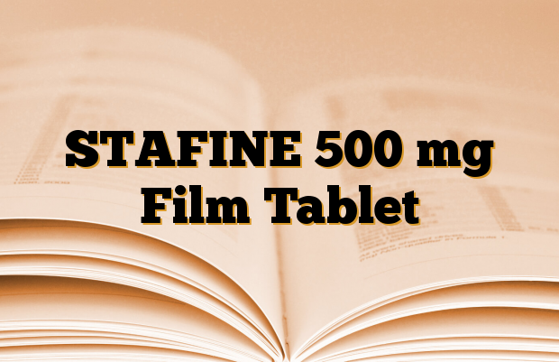 STAFINE 500 mg Film Tablet