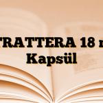 STRATTERA 18 mg Kapsül