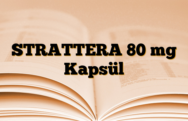STRATTERA 80 mg Kapsül