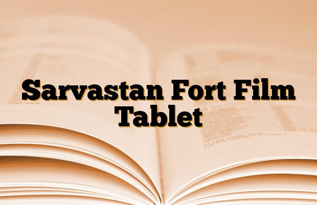 Sarvastan Fort Film Tablet