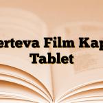 Serteva Film Kaplı Tablet
