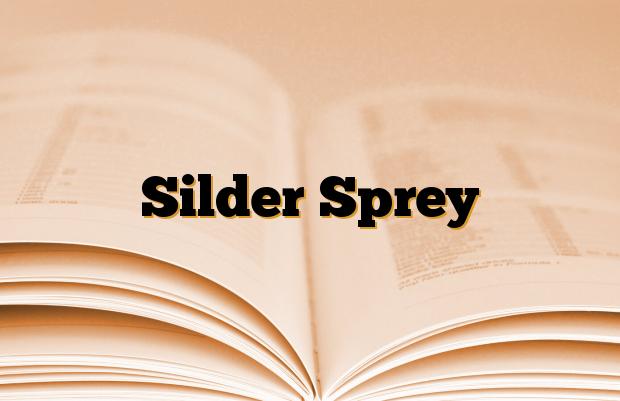 Silder Sprey