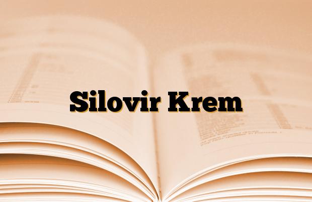 Silovir Krem