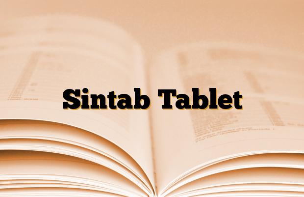 Sintab Tablet
