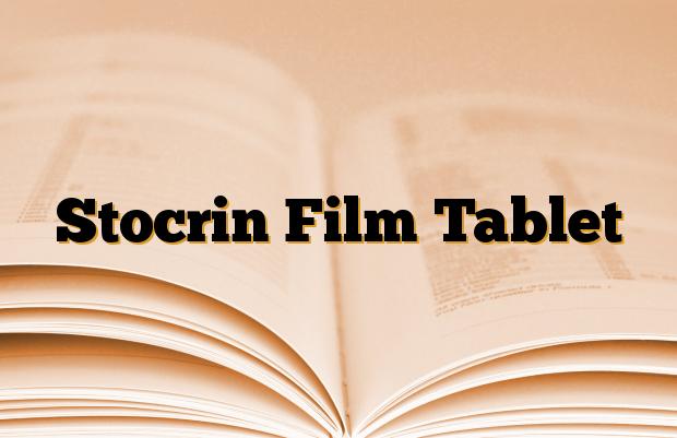 Stocrin Film Tablet