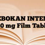 TEBOKAN INTENS 120 mg Film Tablet