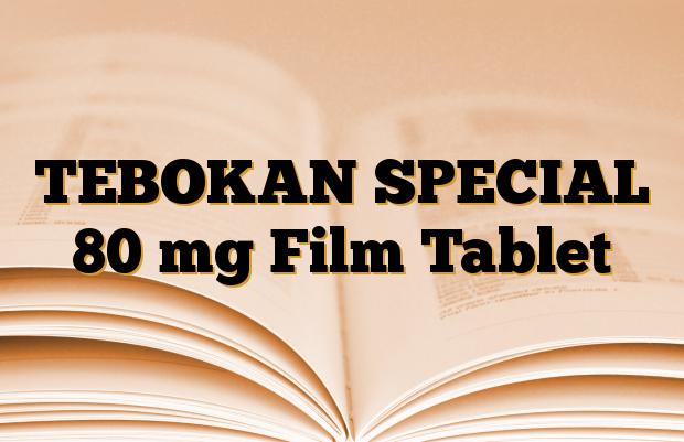 TEBOKAN SPECIAL 80 mg Film Tablet