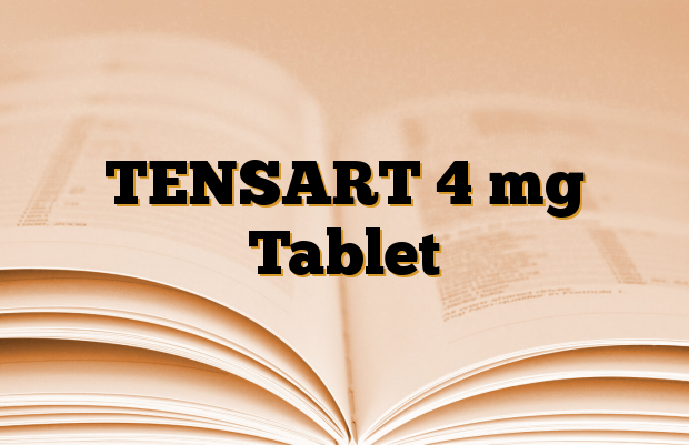 TENSART 4 mg Tablet