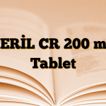 TERİL CR 200 mg Tablet
