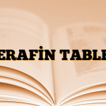 TERAFİN TABLET
