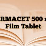 TERMACET 500 mg Film Tablet