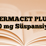 TERMACET PLUS 250 mg Süspansiyon