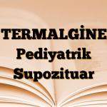TERMALGİNE Pediyatrik Supozituar